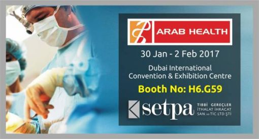 Setpa Neo Surgical Sutures Arab Health 2017 Info
