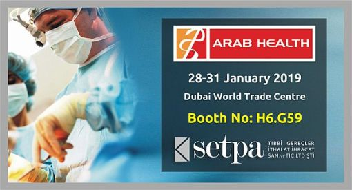 Setpa Neo Surgical Sutures Arab Health 2019 Info
