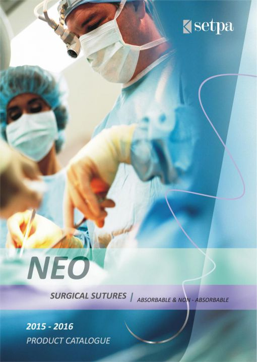 Neo Surgical Sutures Catalogue (Absorbable & Non-Absorbable) / SETPA